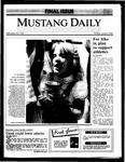 Mustang Daily, June 6, 1986