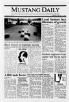Mustang Daily, February 7, 1989