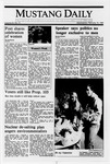 Mustang Daily, February 15, 1989