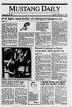 Mustang Daily, February 28, 1989