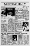 Mustang Daily, March 2, 1989