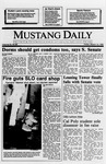 Mustang Daily, March 10, 1989
