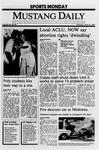 Mustang Daily, April 10, 1989