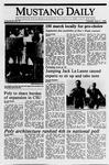 Mustang Daily, April 11, 1989
