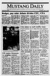 Mustang Daily, April 13, 1989