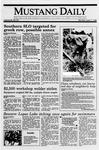 Mustang Daily, April 17, 1989