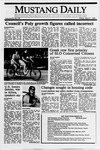 Mustang Daily, April 21, 1989