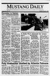 Mustang Daily, April 25, 1989