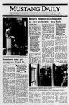 Mustang Daily, May 11, 1989