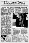 Mustang Daily, May 15, 1989