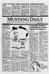 Mustang Daily, May 17, 1989