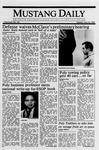 Mustang Daily, May 23, 1989