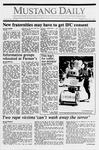 Mustang Daily, May 26, 1989