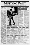 Mustang Daily, May 31, 1989