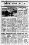 Mustang Daily, June 1, 1989