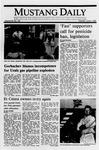 Mustang Daily, June 6, 1989