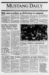 Mustang Daily, June 9, 1989