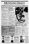 Mustang Daily, September 21, 1989