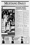 Mustang Daily, September 22, 1989