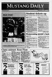 Mustang Daily, September 27, 1989