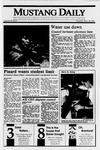 Mustang Daily, September 28, 1989