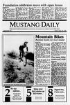 Mustang Daily, September 29, 1989
