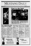 Mustang Daily, October 3, 1989
