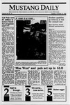 Mustang Daily, October 10, 1989