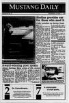 Mustang Daily, October 11, 1989