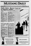 Mustang Daily, October 12, 1989