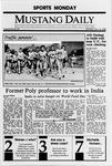 Mustang Daily, October 16, 1989