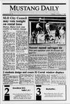 Mustang Daily, October 17, 1989