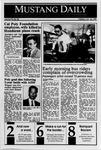 Mustang Daily, October 24, 1989