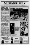 Mustang Daily, October 25, 1989