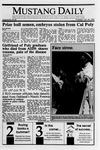 Mustang Daily, October 26, 1989