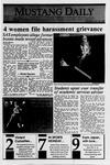 Mustang Daily, October 30, 1989