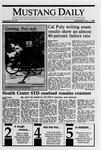 Mustang Daily, November 1, 1989