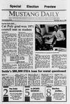 Mustang Daily, November 6, 1989