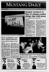 Mustang Daily, November 9, 1989