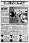Mustang Daily, November 14, 1989