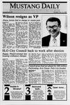 Mustang Daily, November 16, 1989