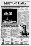Mustang Daily, November 17, 1989