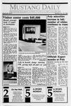 Mustang Daily, November 20, 1989