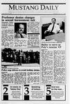 Mustang Daily, November 21, 1989