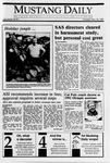 Mustang Daily, November 30, 1989