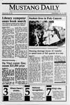 Mustang Daily, January 10, 1990