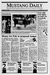 Mustang Daily, January 12, 1990