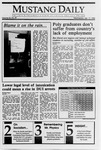 Mustang Daily, January 17, 1990