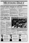 Mustang Daily, January 18, 1990