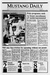 Mustang Daily, January 19, 1990